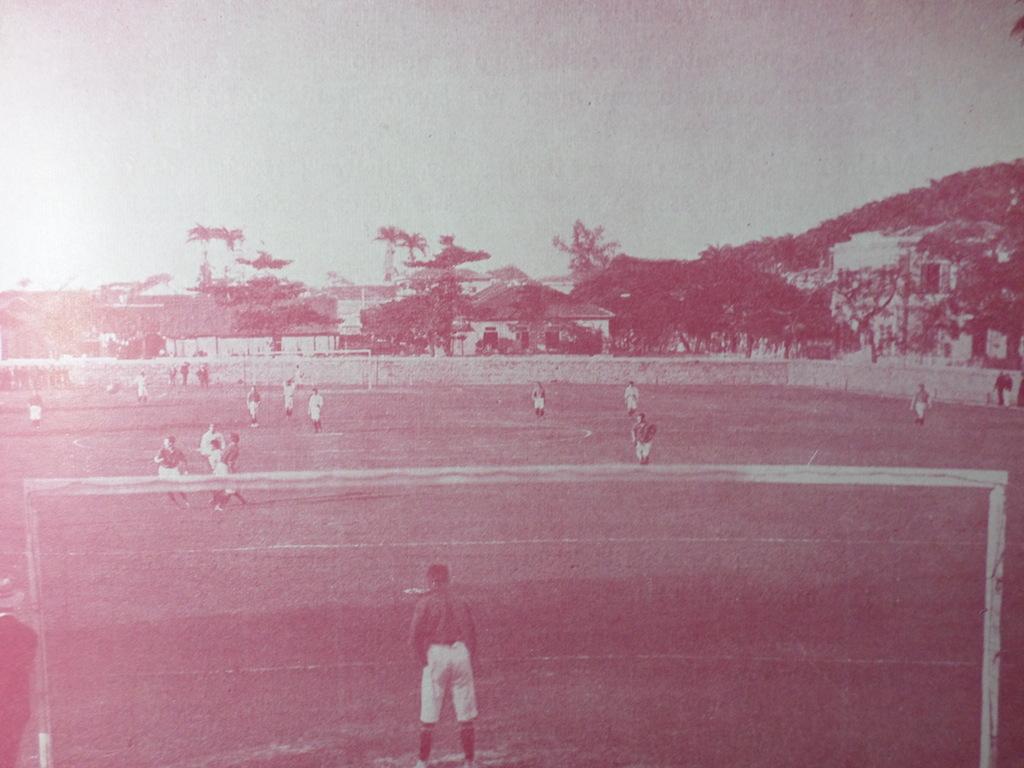 Futebol no Rio de Janeiro. Foto: Arquivo Charles Julius Dunlop