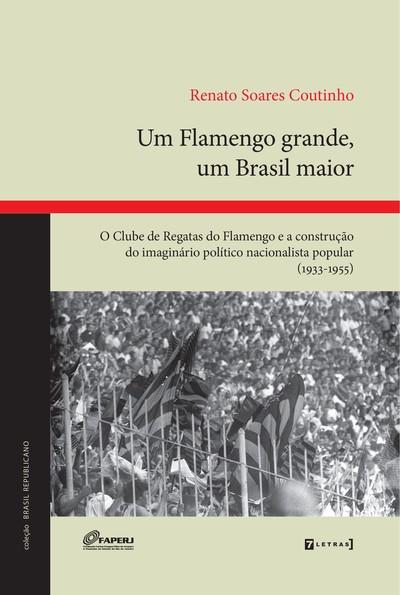 O livro do historiador Renato Soares Coutinho sobre o clube do Flamengo: leitura imperdível para estudiosos de futebol.