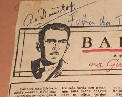 Rubem Braga Baleias com CJ Dunlop 1954