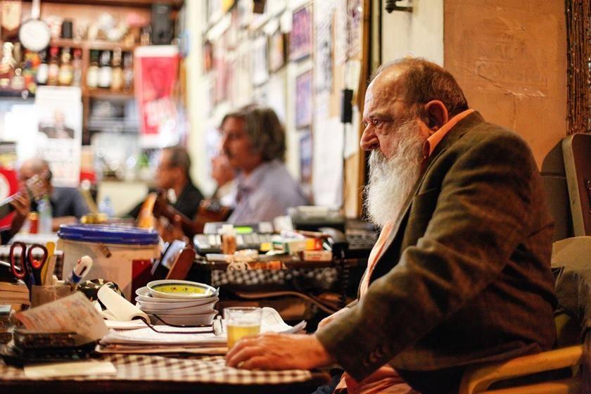 Alfredinho, do bar Bip-Bip. Foto: Dudu Sarmento.